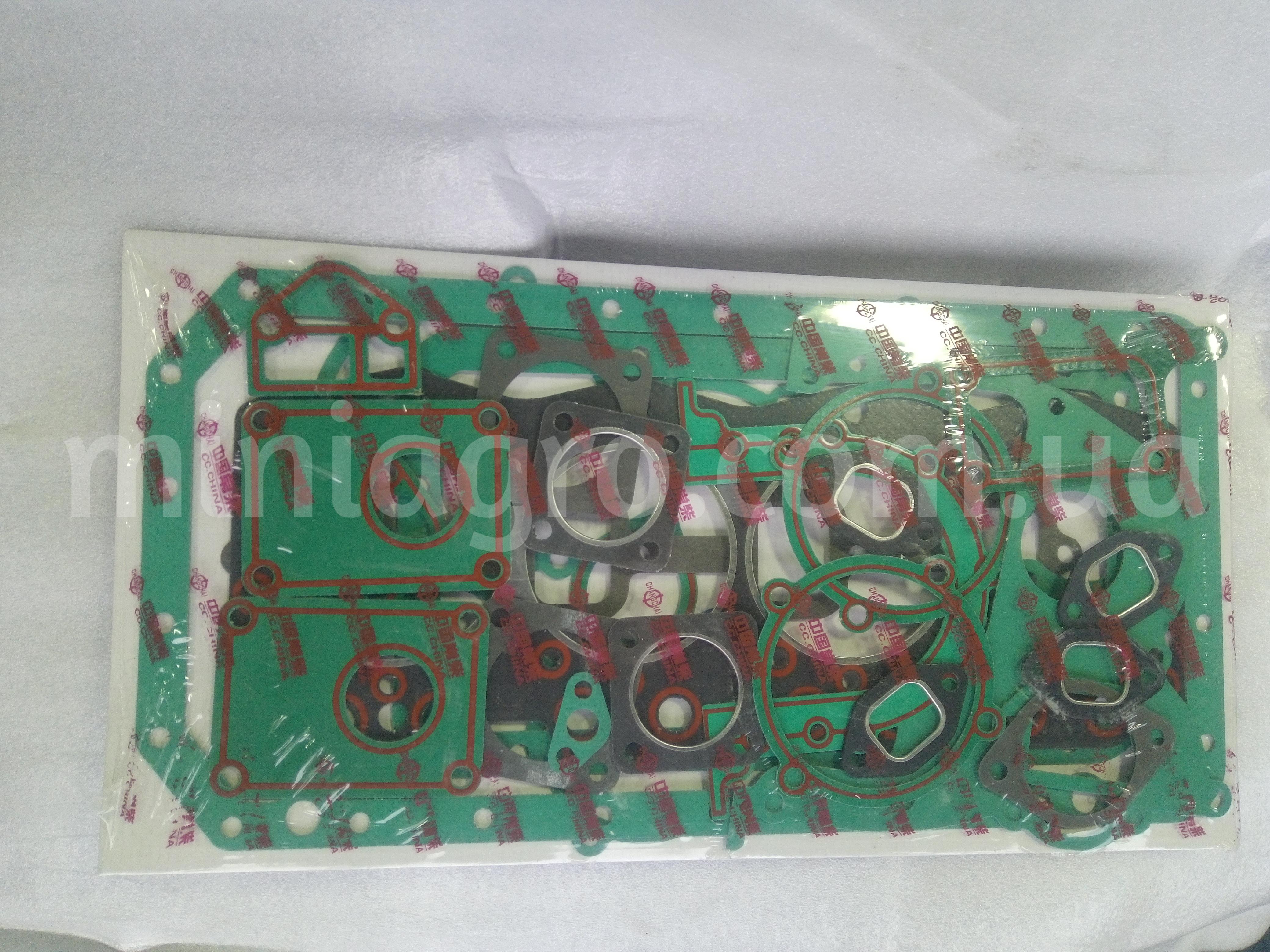 Полный комплект прокладок ZN490BT