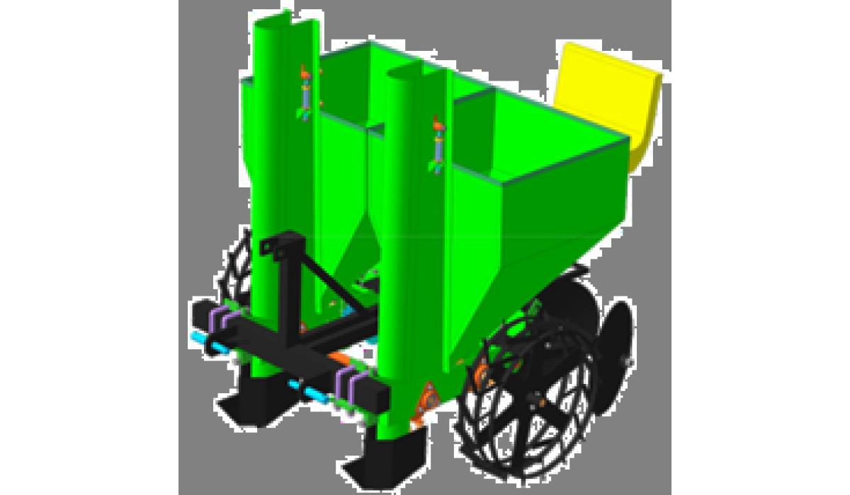 Картоплесаджалка двохрядна КСН-2 Україна