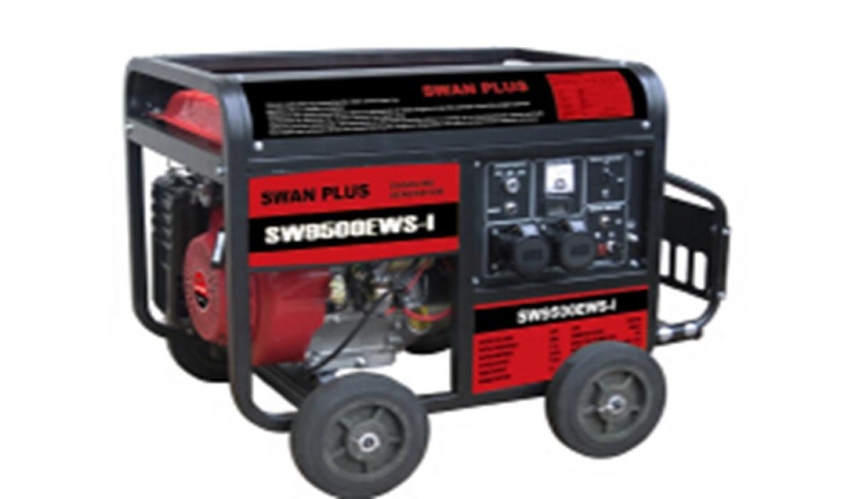 Старая цена 7 299 грн. Бензиновий генератор SWAN PLUS SW4500EWS-I
