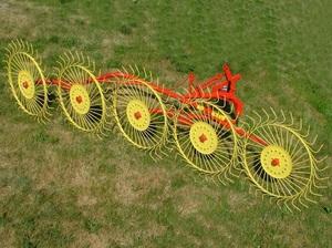 Грабли колесно-пальцевые «Солнышко» 5 колес Польша