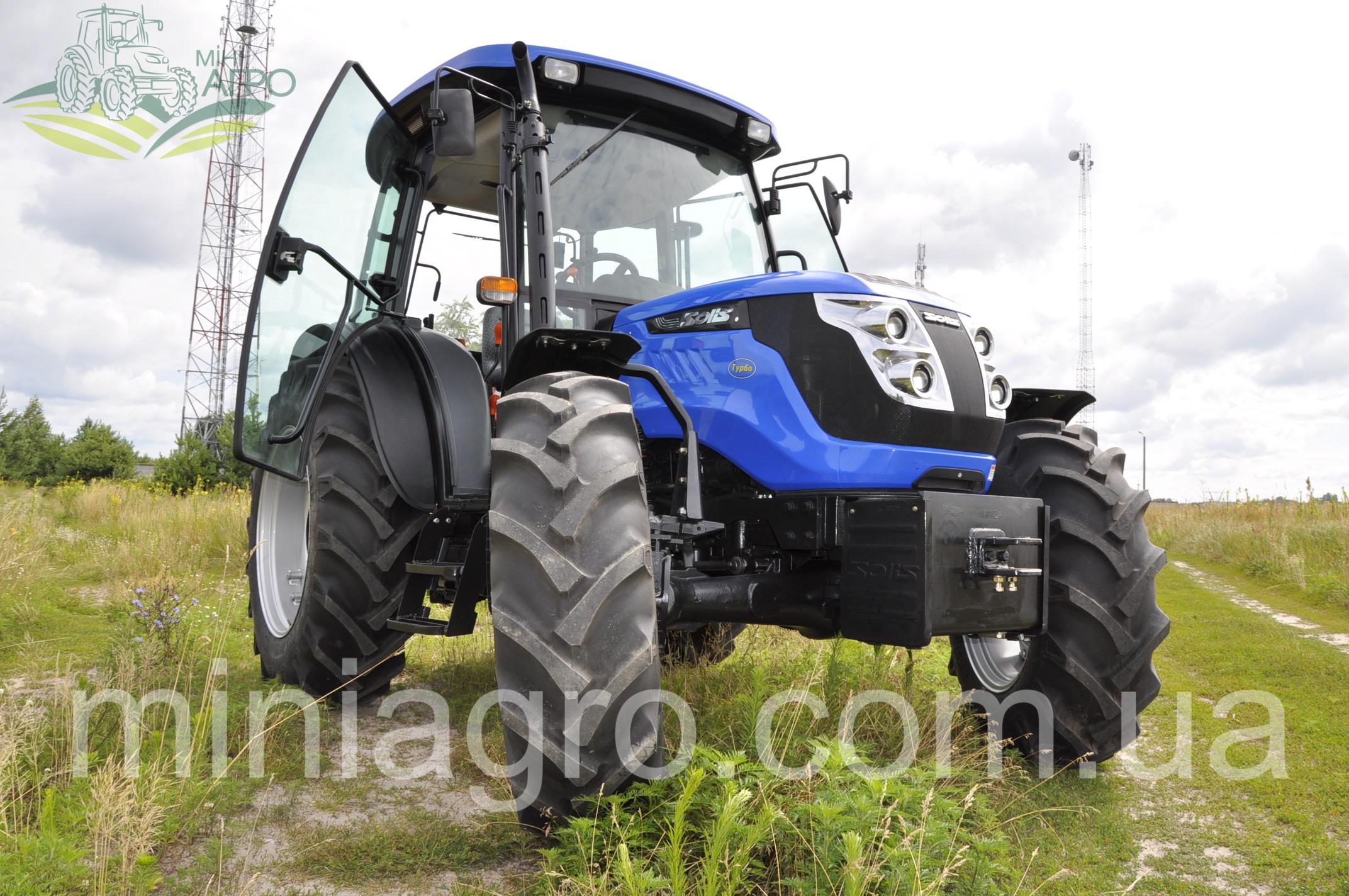 Трактор Solis 105 с кондиционером